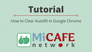 Tutorial: How to Clear Autofill in Google Chrome